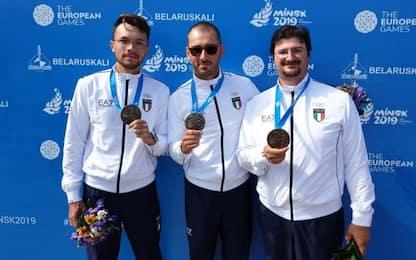 Giochi europei, bronzo Italia nel tiro con l'arco