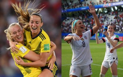 Mondiali donne, Stati Uniti e Svezia ai quarti