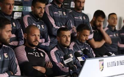 """Caos Palermo, i calciatori: """"Pronti a vie legali"""""""