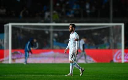 Messi e gli altri big senza trofei in nazionale