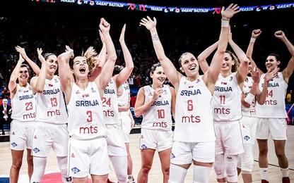 La Serbia strapazza la Gran Bretagna: è bronzo