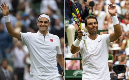 Wimbledon show: sarà Federer-Nadal in semifinale