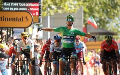 Tour, Sagan fa sua la 5^ tappa a Colmar