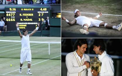 Federer-Nadal, nel 2008 la finale più bella. VIDEO