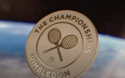 Wimbledon, finali con monete 'spaziali'. VIDEO