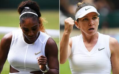 Wimbledon, finale super: Serena-Halep