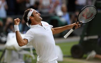 Wimbledon: Federer in finale! Nadal ko in 4 set
