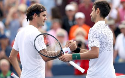 Federer-Djokovic, la super finale su Sky: guida tv