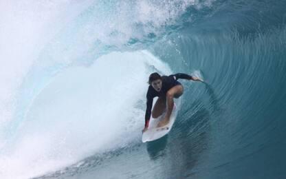 Bevilacqua nella storia: vince Europeo di surf
