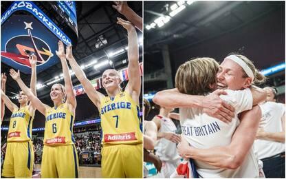 EuroBasket, Svezia e Gran Bretagna ai quarti