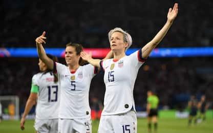 Inghilterra-Usa alle 21 su Sky Mondiali