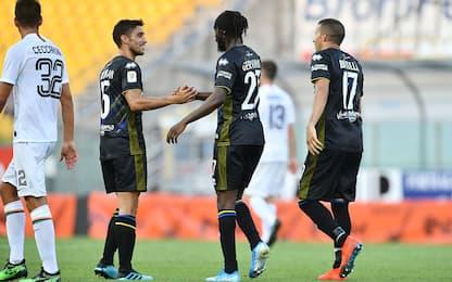 Doppio Gervinho, il Parma avanza in Coppa Italia
