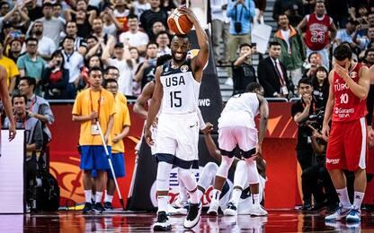 Team USA, che sofferenza! Turchia ko all'overtime