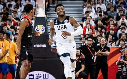 Team USA, arriva la reazione: +53 sul Giappone