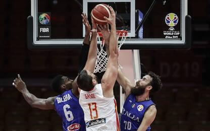 L'Italia ko con la Spagna dice addio al Mondiale