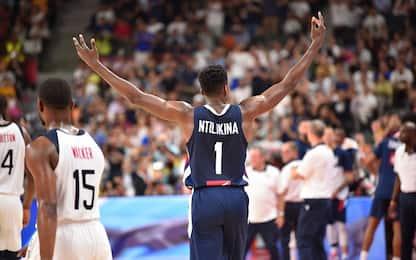 USA fuori dal Mondiale! La Francia vince 89-79