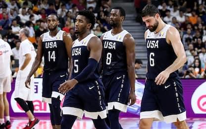 Altra sconfitta per gli USA: vince la Serbia 94-89
