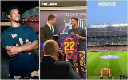 Butler festeggia i 30 anni al Camp Nou. VIDEO