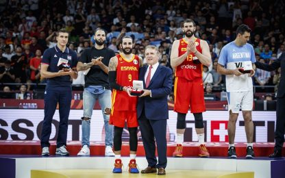 Mondiale: Rubio MVP, Gasol-Scola miglior quintetto