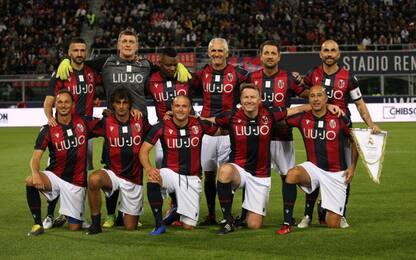 Gol, leggende e spettacolo: 4-2 Real sul Bologna
