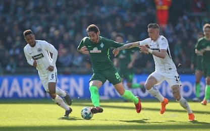 Eintracht-Werder Brema 2-2