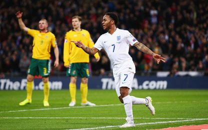 Sterling in ritardo, Southgate lo perdona