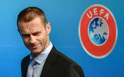 """Uefa, Ceferin: """"Var in Champions? È presto"""""""