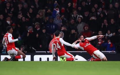 Magia di Giroud, poi Iwobi: Arsenal-Palace 2-0