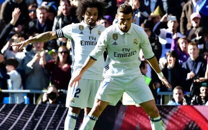 Il Real festeggia CR7 e fa il record: 39 senza ko