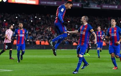 Copa del Rey, Barcellona ai quarti in scioltezza