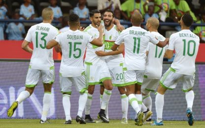Tunisia-Senegal, gol Mané. Mahrez salva l'Algeria