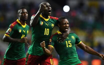 Camerun-Guinea 2-1. Mahrez sfida la Tunisia