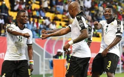 Coppa d'Africa, il Ghana convince. L'Egitto no