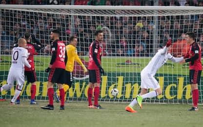 Bayern, super Lewandowski: Friburgo steso al 91'