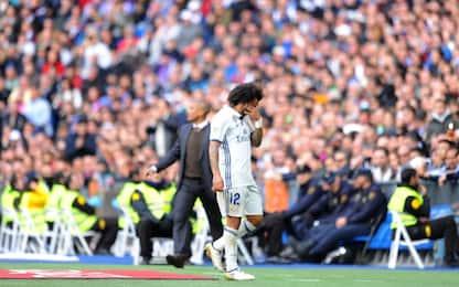 Real Madrid, Marcelo ko: Napoli a rischio