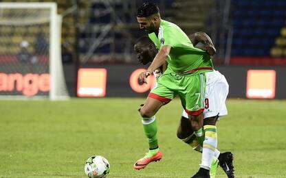Algeria a...Mahrez. Senegal e Tunisia ai quarti