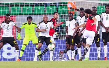 Le punizioni più belle? Sono in Coppa d'Africa