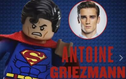 Griezmann è Superman: doppia nel film della Lego