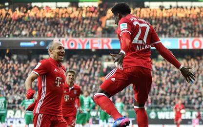 Bundes nelle mani del Bayern, Lipsia subito dietro