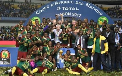 Coppa d'Africa, Camerun campione: Egitto ko 2-1