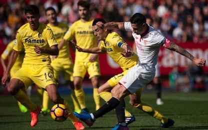 Liga, frena il Siviglia. Real Sociedad al 5° posto