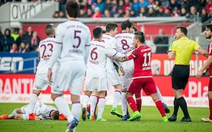 Bundes, fuga Bayern. E il Lipsia prende tre sberle