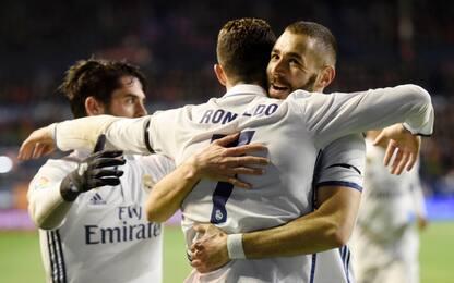 Il Real prima del Napoli: non brilla ma vince