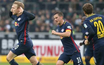 Bundes, il Lipsia vince e va a -5 dal Bayern