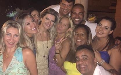 Riecco Adriano: mega festa a Rio da 92mila euro