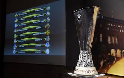 E. League, la Roma pesca il Lione agli ottavi