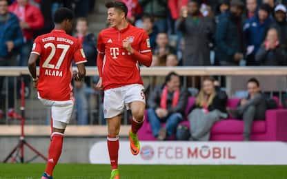 Il Bayern esagera: 8 gol all'Amburgo