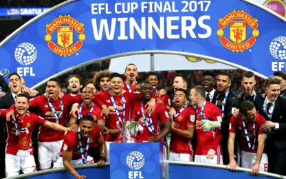 Infinito Ibra: gol decisivo e EFL Cup allo United