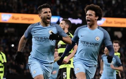 City travolgente, 5 gol e quarti di FA Cup