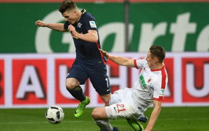Lipsia fermato sul pari, il Bayern può andare a +7